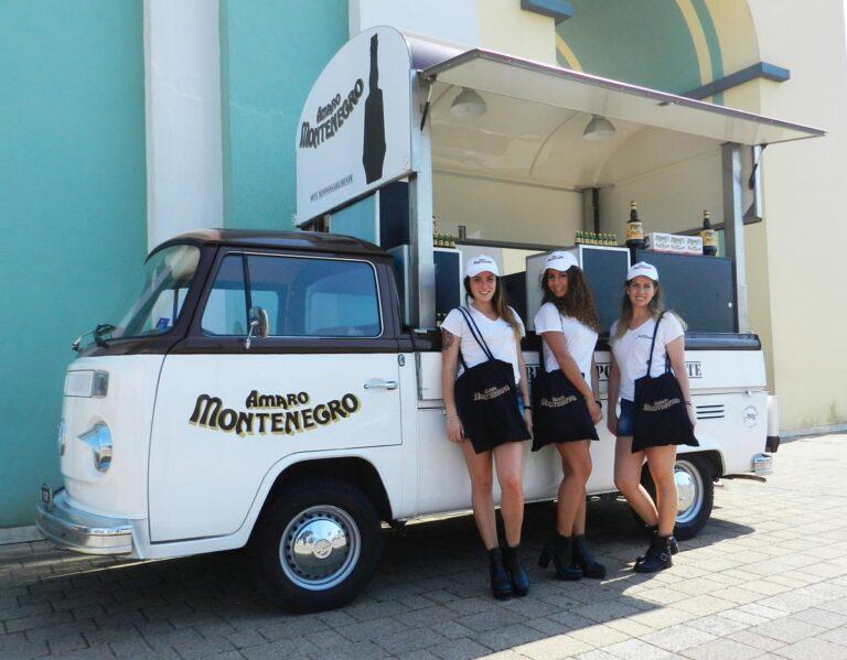 Amaro Montenegro Food Truck - Roadshow - Sampling - Temporary Box