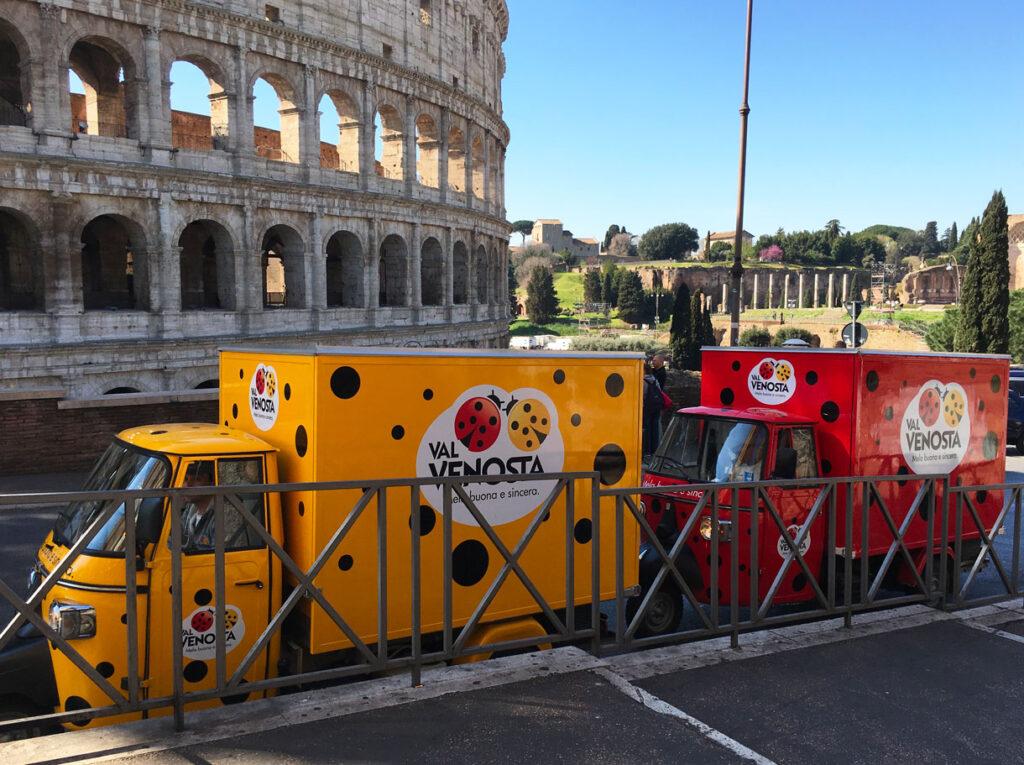 Moving Retail - Tour promozionali - Vendita itinerante