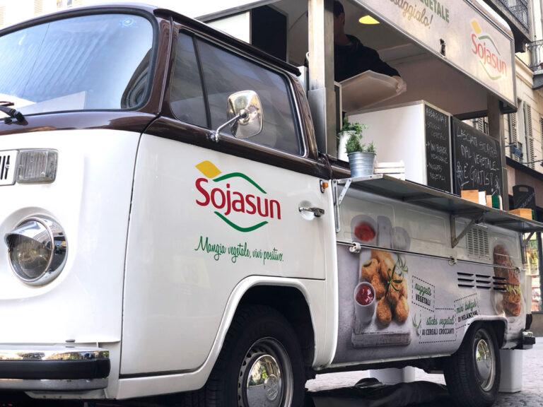Sojasun il Roadshow a bordo di un Food Truck - Temporary Box
