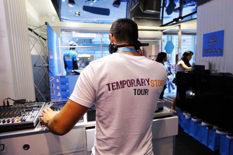 Agenzia di comunicazione specializzata in Temporary Shop