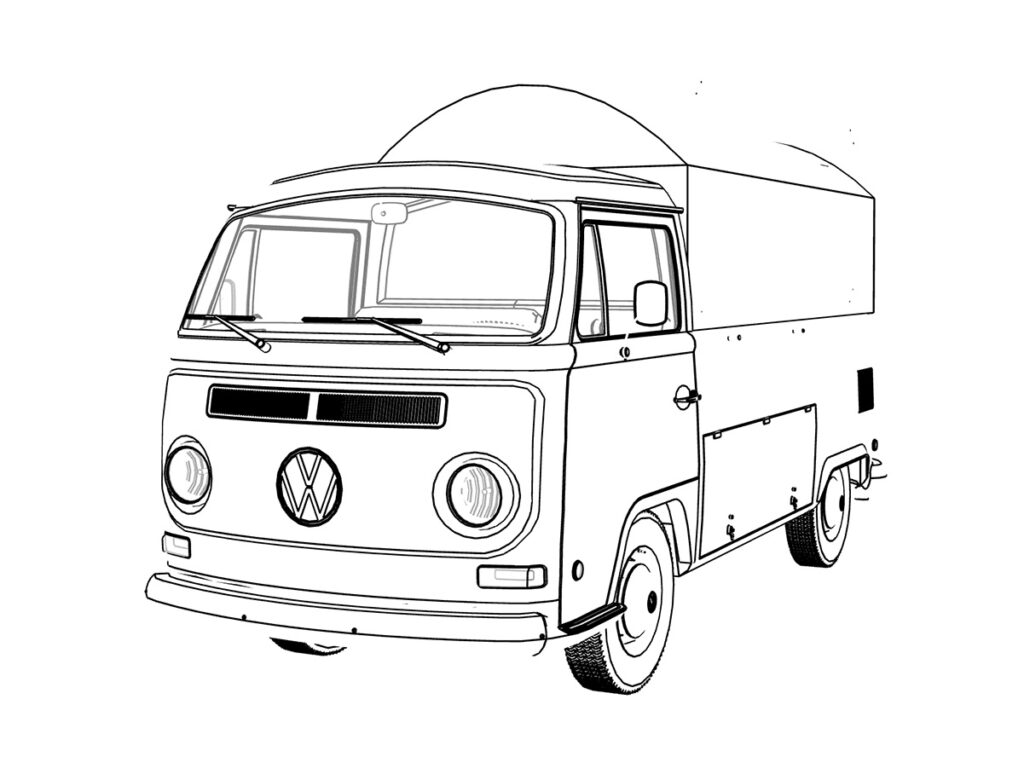 Volkswaveg food truck per tour promozionali